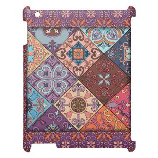 Vintage mosaic talavera ornament iPad covers
