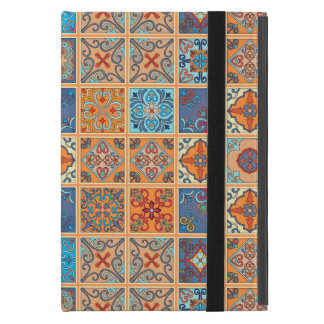 Vintage mosaic talavera ornament iPad mini case