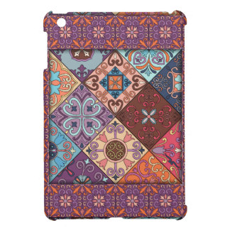 Vintage mosaic talavera ornament iPad mini cases