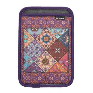Vintage mosaic talavera ornament iPad mini sleeve