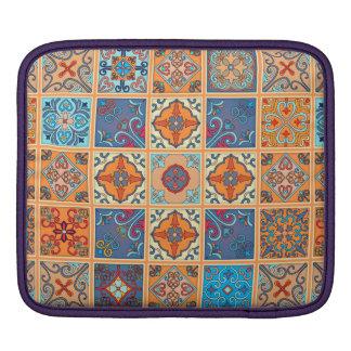 Vintage mosaic talavera ornament iPad sleeve