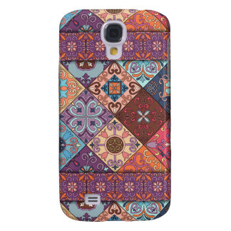 Vintage mosaic talavera ornament samsung galaxy s4 case