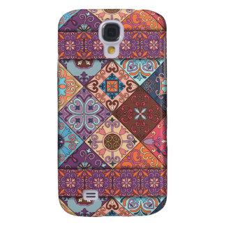 Vintage mosaic talavera ornament samsung galaxy s4 covers