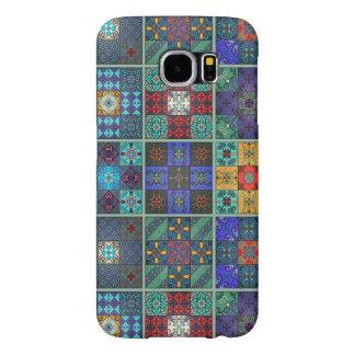 Vintage mosaic talavera ornament samsung galaxy s6 cases