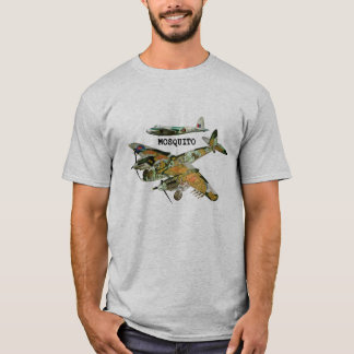 Vintage Mosquito Second World War T-Shirt