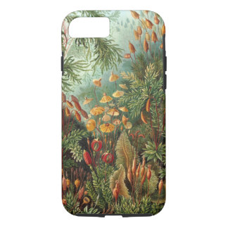 Vintage Moss Plants by Ernst Haeckel, Muscinae iPhone 7 Case