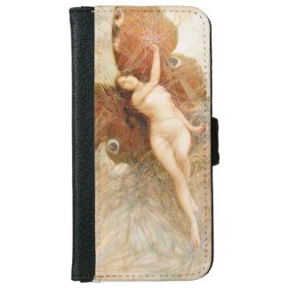 Vintage Moth Fairy Wallet Case