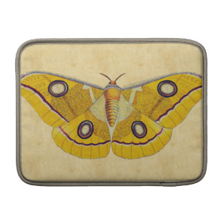 Vintage Moth MacBook Sleeve