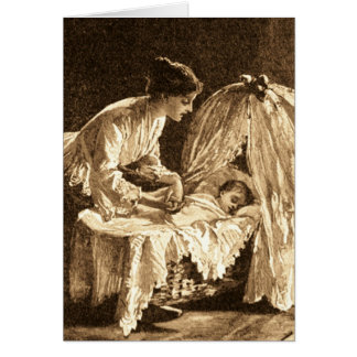 Vintage Mother and Baby Greeting Cards