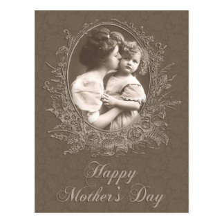 Vintage Mother and Child Mother s Day Post Card