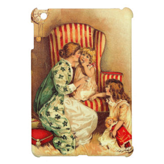 Vintage Mother and Children - Mother's Day Case For The iPad Mini