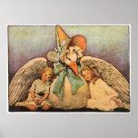 Vintage Mother Goose Children Jessie Willcox Smith Posters