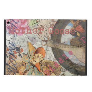 Vintage Mother Goose Fairy tale Collage iPad Air Covers