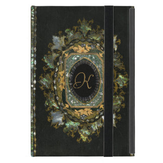 Vintage Mother Of Pearl Hand Made Book Cover Cover For iPad Mini