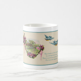 Vintage Mother s Day Bluebirds Mugs