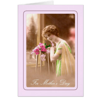 Vintage Mother s Day Card