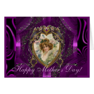Vintage Mother s Day Greeting Card