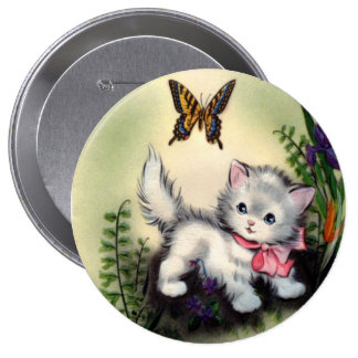 Vintage Mothers Day Round Button