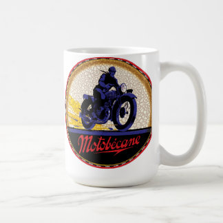 Vintage Motobecane motorcycles sign Coffee Mug