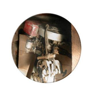 """Vintage Motor Decorative Porcelain Plate 10.75"""""""