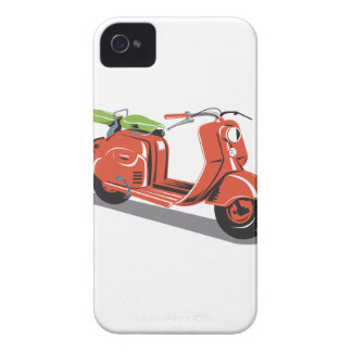 Vintage Motor Scooter Retro iPhone 4 Cover