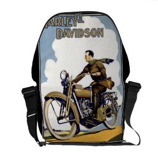 Vintage Motorbyke Messanger Bag Rickshaw Bag Messenger Bag