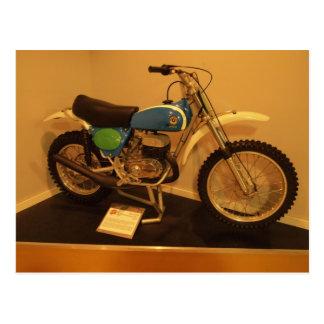 Vintage Motorcycle Bul Taco Postcard