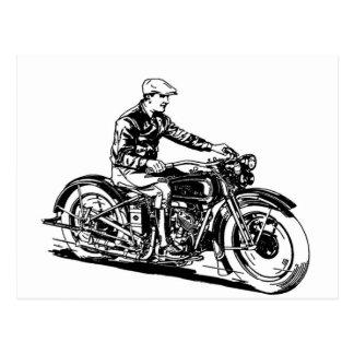 Vintage Motorcycle Postcards