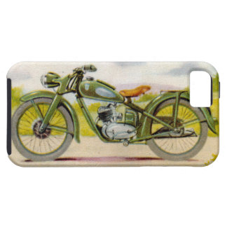 Vintage Motorcycle Print iPhone 5 Covers