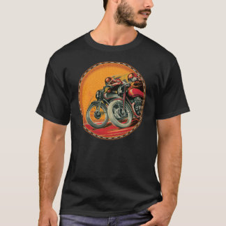 vintage motorcycle racers T-Shirt