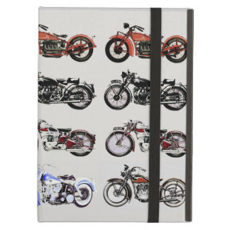 VINTAGE MOTORCYCLES iPad AIR COVER