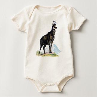 Vintage Mountain Goat Baby Bodysuit