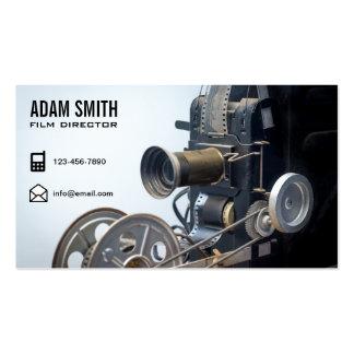 Vintage Movie Camera Professional Film Director Pack Of Standard Business Cards
