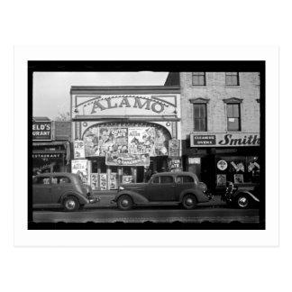 Vintage Movie Theater Postcard