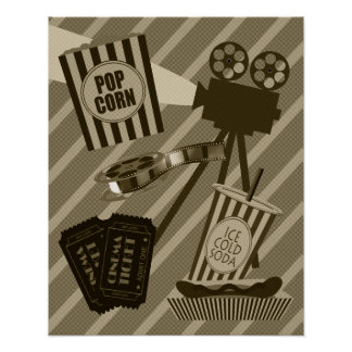 Vintage Movie Theater Poster