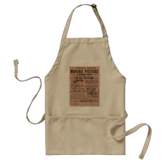 Vintage Moving Picture Exhibition Aprons