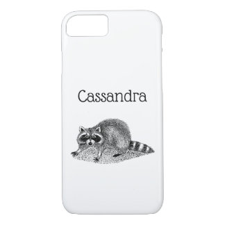 Vintage MSked Raccoon iPhone 8/7 Case