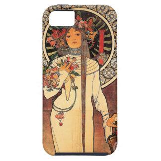 Vintage Mucha Art Deco iPhone 5 Case