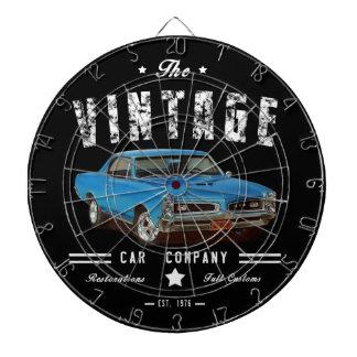 Vintage Muscle Car Company Dartboard