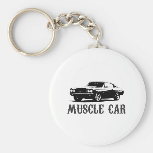 vintage muscle car keychains