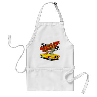 Vintage Muscle Car Madness Standard Apron