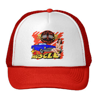 Vintage Muscle Car T-shirts and Gifts Trucker Hat