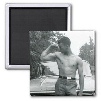 Vintage Muscle Magnet