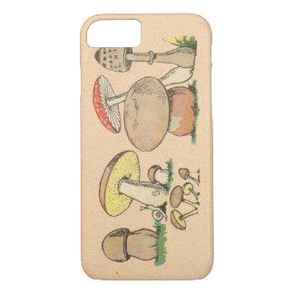 Vintage Mushroom iPhone 7 Case