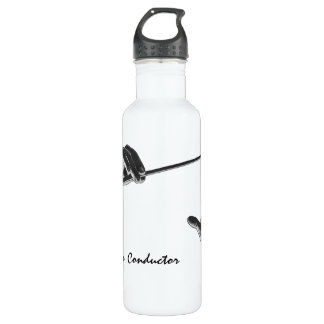 Vintage Music, Conductor's Hands with a Baton 710 Ml Water Bottle
