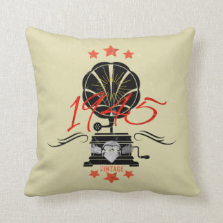 Vintage Music Cushion