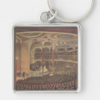 Vintage Music, Jenny Lind, Swedish Opera Singer Key Chain