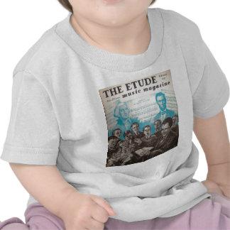 Vintage music magazine The Etude Tshirt