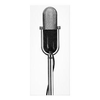 Vintage Music Old Fashioned Retro Microphone Custom Invites