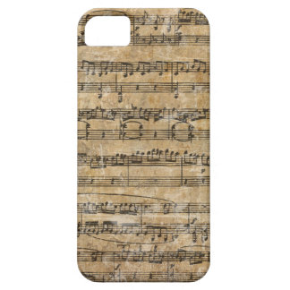 Vintage Music Score iPhone 5 Cover